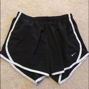 Black and White Nike Shorts